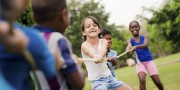 bigstock-Happy-School-Children-Playing--37851988